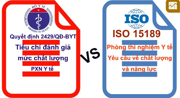 Nên chọn bộ tiêu chí 2429 hay ISO 15189 để xây dựng hệ thống QLCL phòng xét nghiệm