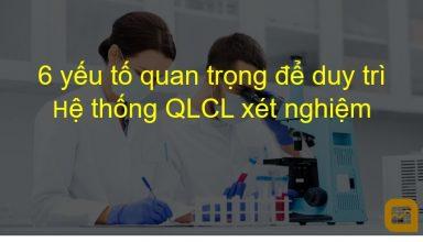 duy trì hệ thống QLCL xét nghiệm