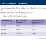 Các thuật ngữ thống kê trong kiểm soát chất lượng