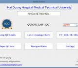Phần mềm quản lý và phân tích dữ liệu nội kiểm – QUANGLAB-IQC Version 2.0-3.0