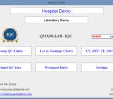 Phần mềm quản lý và phân tích dữ liệu nội kiểm – QUANGLAB IQC –  Phiên bản 1.0
