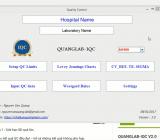 Thiết lập giới hạn kiểm soát mới cho mẫu nội kiểm tra trên QUANGLAB-IQC