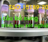 Yêu cầu bổ sung quy trình sau xét nghiệm theo ISO 15189:2012